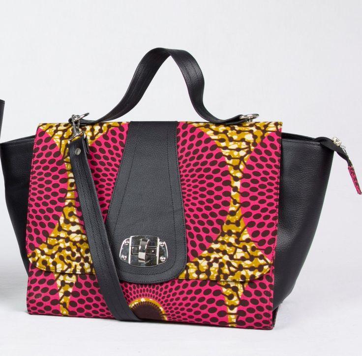 Sac à main en similicuir et wax rose par Dyange pour Afrikrea. https://www.afrikrea.com/article/sac-rita-sacs-a-main-rose-similicuir-wax/QQ72N93?utm_content=bufferefc90&utm_medium=social&utm_source=pinterest.com&utm_campaign=buffer