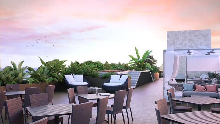 Roof Garden Hotel - EVA3D