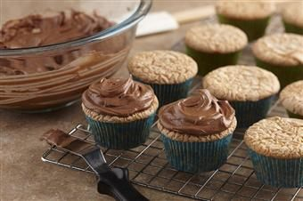**Chocolate Buttercream Frosting, with one of the ingredients being  Karo Syrup!! I would've never guessed!! ~D~ **