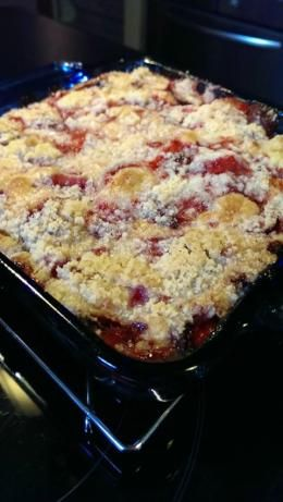 Fresh Strawberry Cobbler. Photo by WorkNMomma