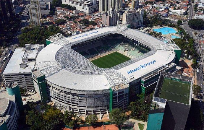 Allianz Parque Arena Palmeiras (Foto: Thiago Fatichi / Divulgação)