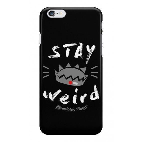 wholesale dealer 18ff9 2d205 7.99 GBP - Jughead Jones Stay Weird - Riverdale Phone Case - Fun ...
