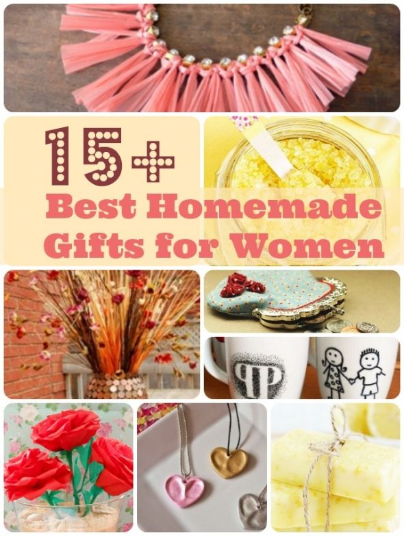 Round-up of Unique Homemade Gifts for Women & Girls ...