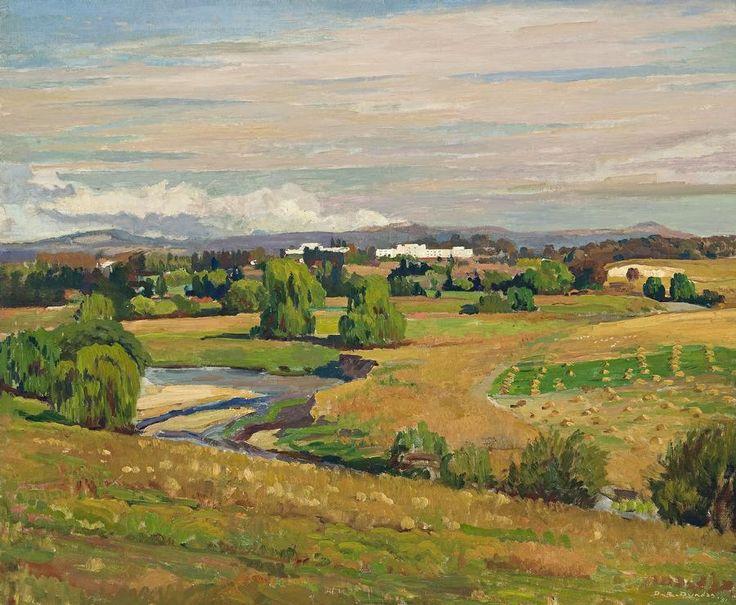 Douglas Dundas Canberra Landscape 1951