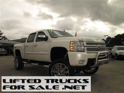 Used 2013 Chevy Silverado 1500 4WD Crew Cab LTZ Lifted Truck