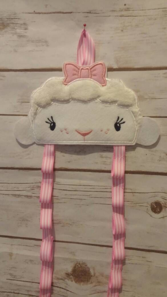 Lambie Headband Holder; Bow Holder; Barrette Holder; Headband Organizer; Bow Organizer; Barrette Organizer; Hair Accessory Holder by TamsTinyBlessings on Etsy