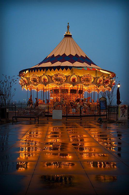 The Carousel at Bridge Street Town Center -  Huntsville, AL #Huntsville #Attractions