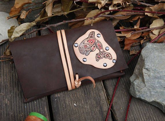 leather tobacco pouch leather document case small leather