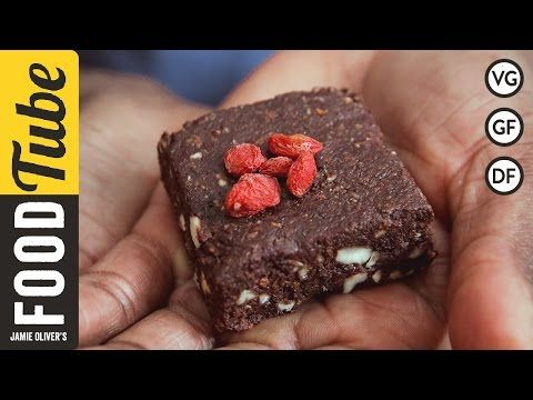 Chocolate Brownies With Blackcurrants