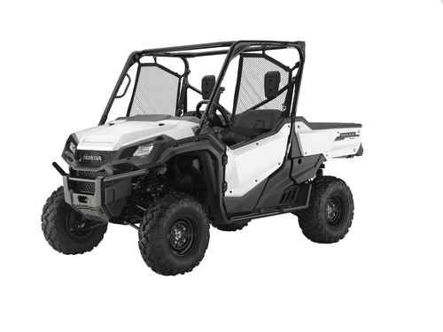 New 2016 Honda Pioneer 1000 Eps White ATVs For Sale in Louisiana. 2016 Honda Pioneer 1000 Eps White, 2016 Honda Pioneer 1000 EPS - Not Just Bigger: Better. The outdoors is meant to be explored. The highest hills, the deepest canyons, and the farthest reaches of the forests all lie in wait. And now, we bring you an entirely new vehicle that can get you there. The all-new Pioneer 1000 is the world s preeminent side-by-side, both in the Honda lineup, and the industry. Built around a…