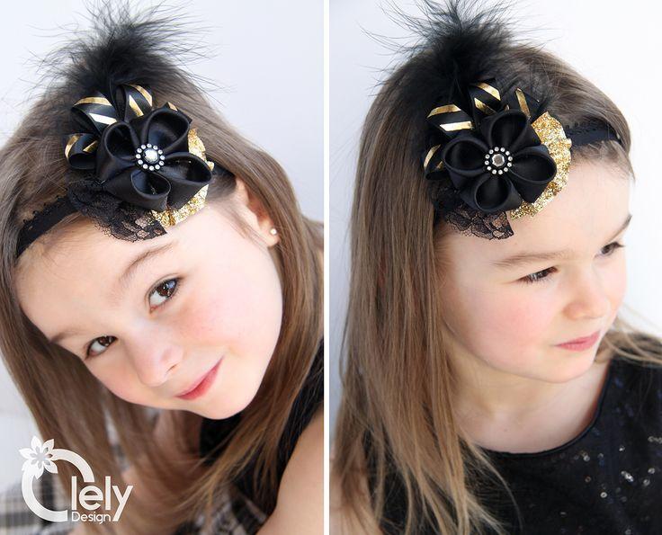 Girl flower headband