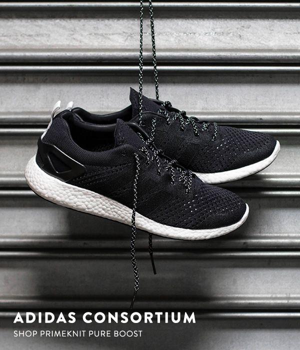 4db3a45085dbc3 ... adidas Consortium Primeknit Pure Boost  Black