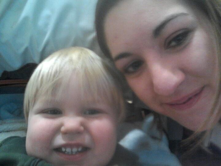 Me n my nephew colton. Bundle of joy :)