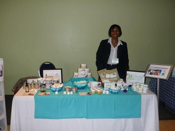 @My Shopping Partner providing great products at the Natural Hair & Beauty Show. — at Toronto Natural Hair Show .