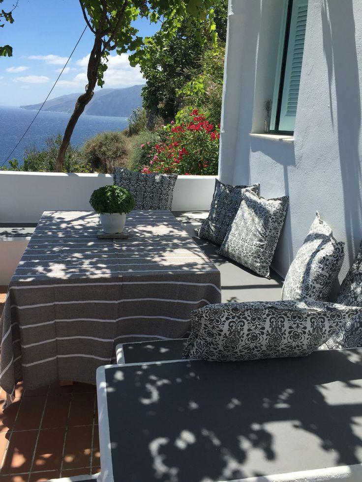 Skyros island outdoor table