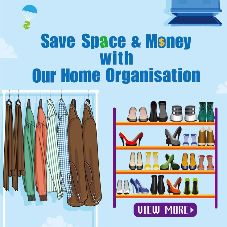 Wanna save space? Wanna save money? Why not have a look at our home organisation? #home #organisation #savemoney