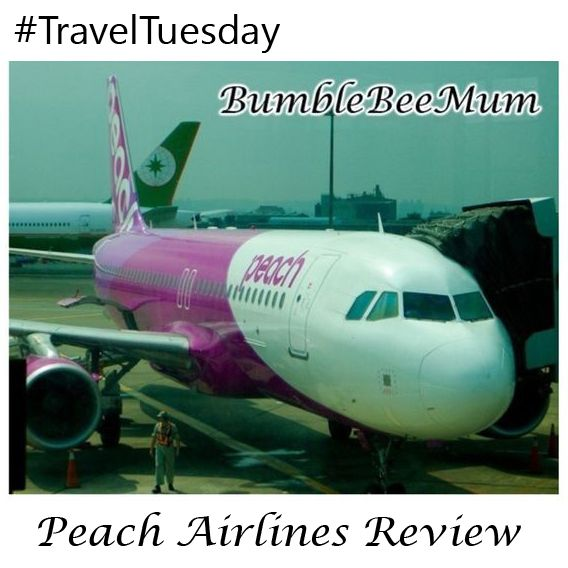 {Travel Tuesday #5} Peach Airlines Review (Taiwan Taipei to Okinawa)
