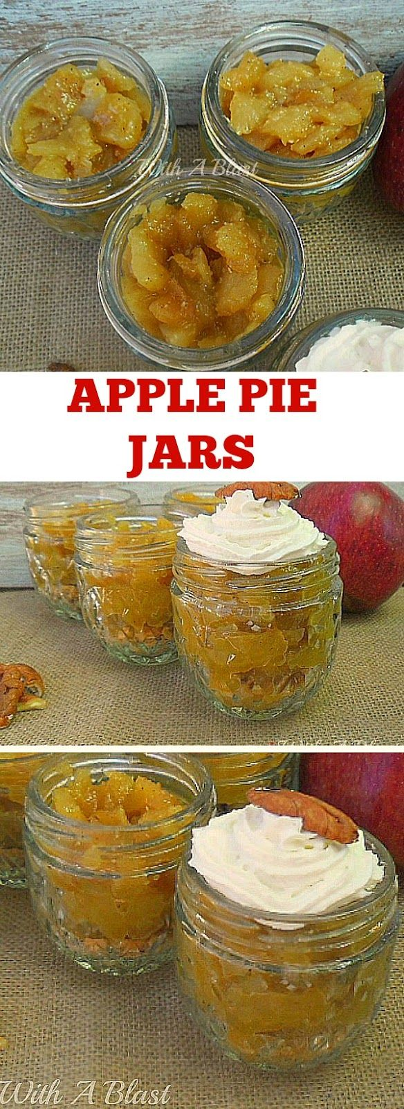 All time popular Apple Pie, but in a Jar ! No-bake, no-fuss with these buttery…