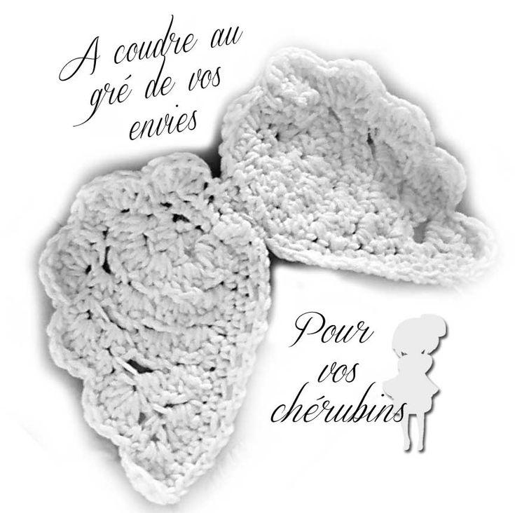 crochet alas de angel patron: De Angel, Angel Wings, Free, Pattern, Crochet, Ailes D Ange, Angel Patrones, Baby, Crochet Pattern