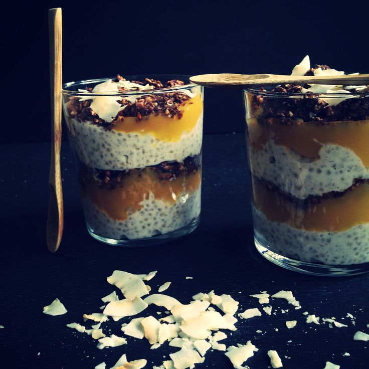 Mango chiagrød – luxus morgenmad | Vanlose Blues
