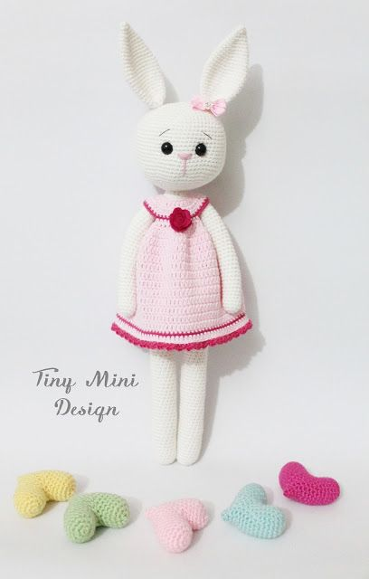 Crackers Girl Bunny | Tiny Mini Design Patterns