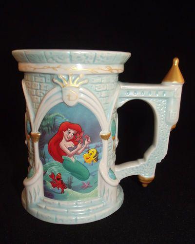 Disney Parks Exclusive The Little Mermaid Castle Mug ...