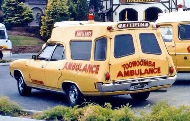 Vintage: Toowoomba Ambulance Service. v@e.