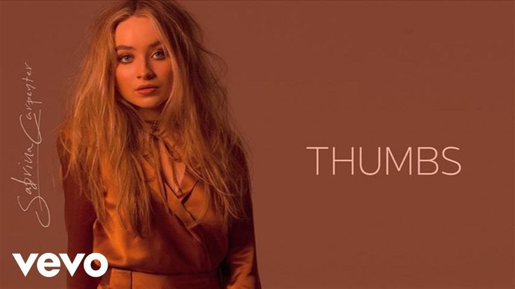 @volvano11 This is the latest Sabrina song, thumbs! I really mean it when I say it's my favorite song!!