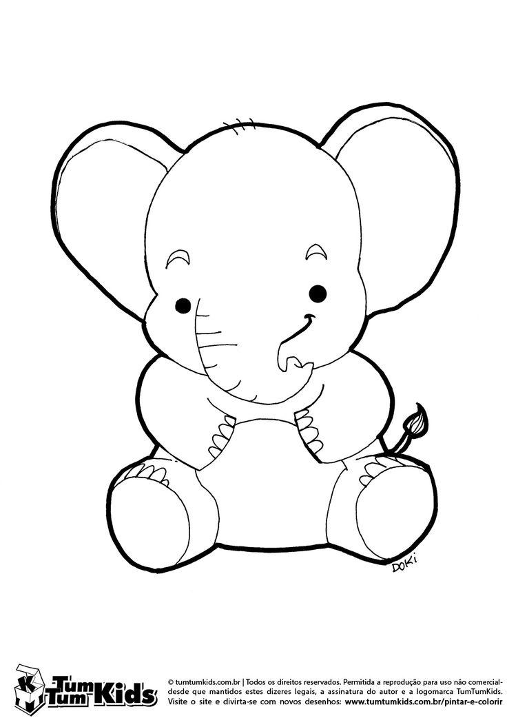 doki-pintar-colorir-elefante-sentado-tromba-orelha-anima copy