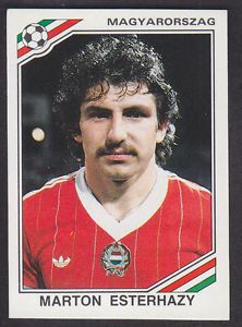 Image result for mexico 86 panini hungary esterhazy