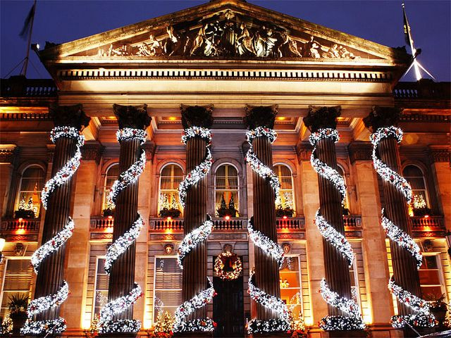 The Dome, Edinburgh at Christmas by steve_fredrico, via Flickr