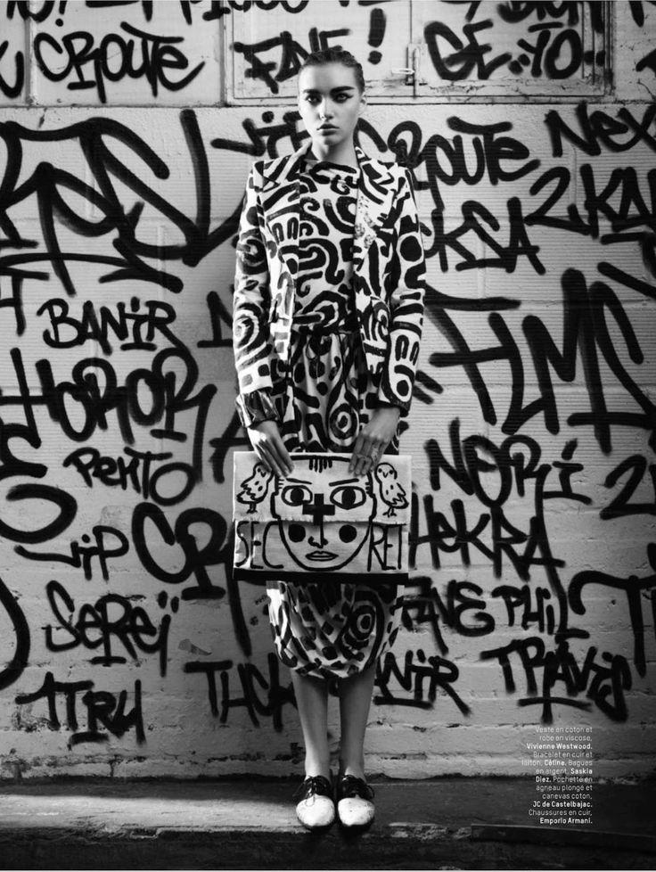 visual optimism; fashion editorials, shows, campaigns & more!: underground: cordelia kuznetsova by timur celikdag for l'officiel paris february 2014