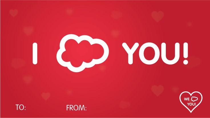 I ☁ You! | Salesforce Pick-Up Lines