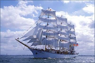 #Ships - Nadezhda, Russian tall ship.