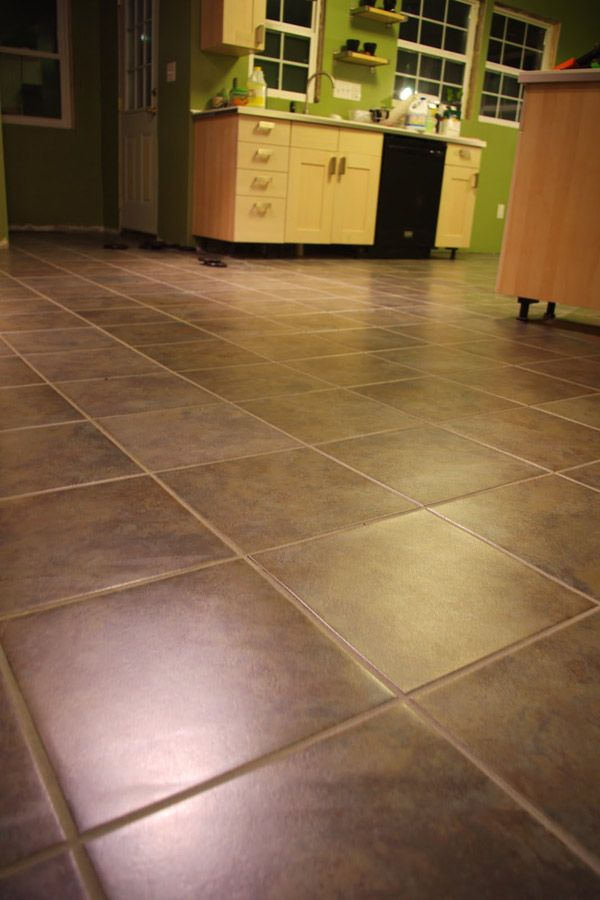 Diy Trafficmaster Ceramica Luxury Vinyl Tile L And Stick Groutable