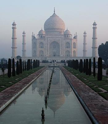 Winter honeymoon in India.
