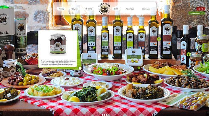 Lyrakis Family S.A. – Olive Oil Production & Export Company
