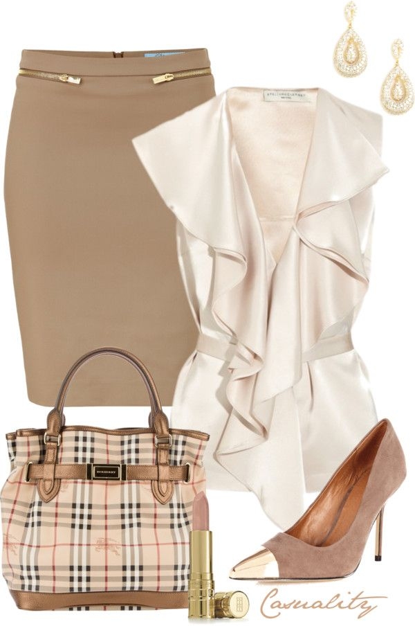 """Touch of Burberry"" by casuality on Polyvore:"