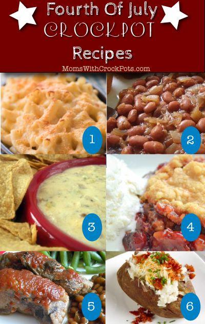 Fourth of July #Crockpot #recipes