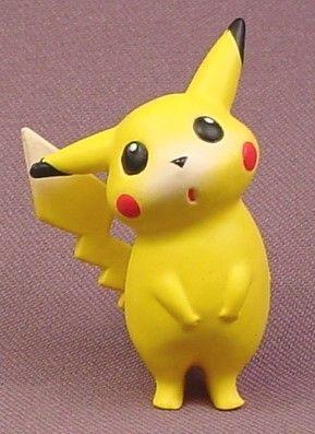 "Pokemon Pikachu Standing PVC Figure, 2 1/8"" tall, Tomy"