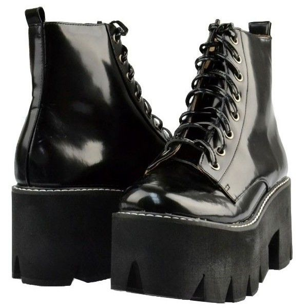 Women's Shoes (25.285 ISK) ❤ liked on Polyvore featuring shoes, boots, ankle booties, footwear, platform boots, white boots, black white boots, white ankle booties and jeffrey campbell