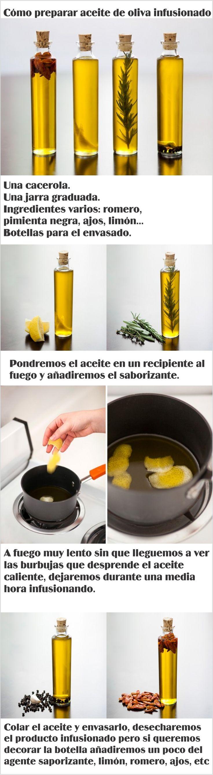 Como preparar aceite infusionado para mejorar tus recetas.