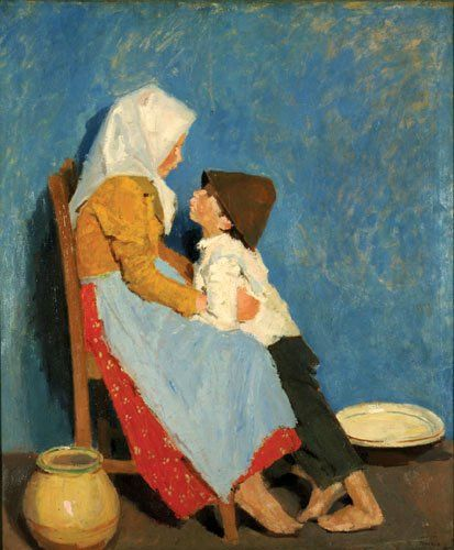 Adolf Fenyes: Brother and Sister (1906)