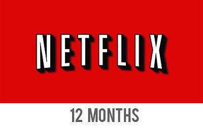 Netflix 6 or 12 Months Prepaid Subscription Gift Code Membership Voucher Premium