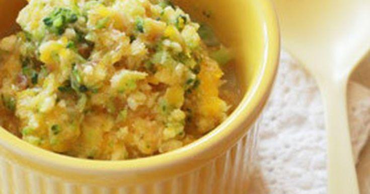 【離乳食初期】魚とブロッコリーの白和え by mogcook [クックパッド] 簡単おいしいみんなのレシピが257万品