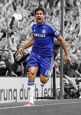 #Diego #costa #chelsea fc art print photo picture poster a3 a4 ,  View more on the LINK: 	http://www.zeppy.io/product/gb/2/121963107156/