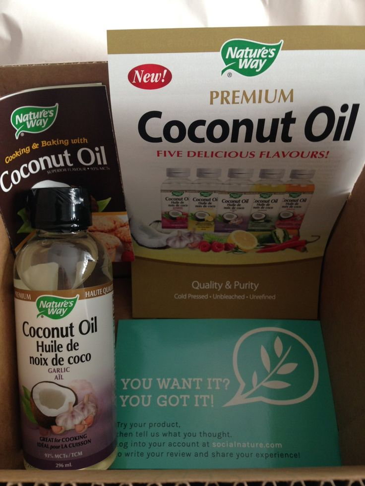 Thanks @SocialNature for @NaturesWayCan Garlic #CoconutOil!