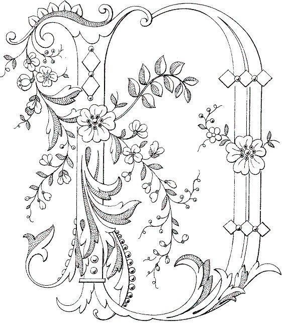 LetterDjpg 565643  Coloring Pages  Pinterest