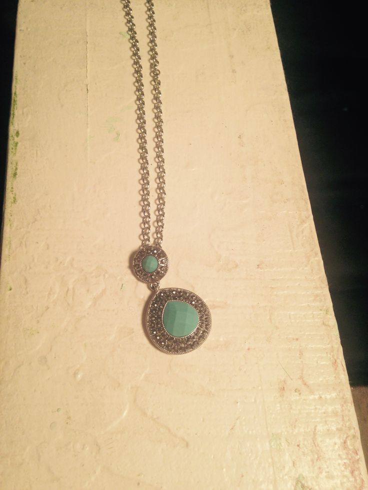Mom bought this necklace for me for graduation. Monet from JCPenny.