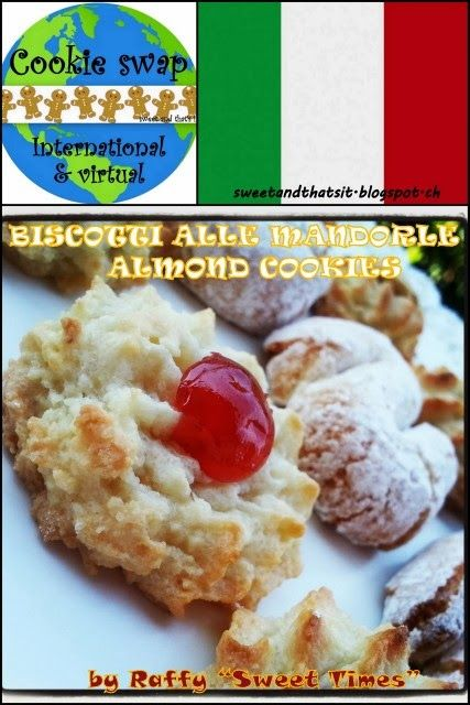 Sweet and That's it: Almond Cookies (Sicily) - Biscotti alle Mandorle (Sicilia)